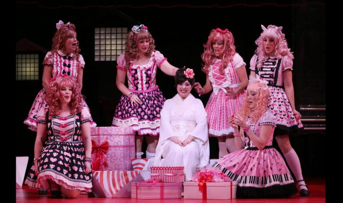 NZ Opera's summer season of The Mikado.