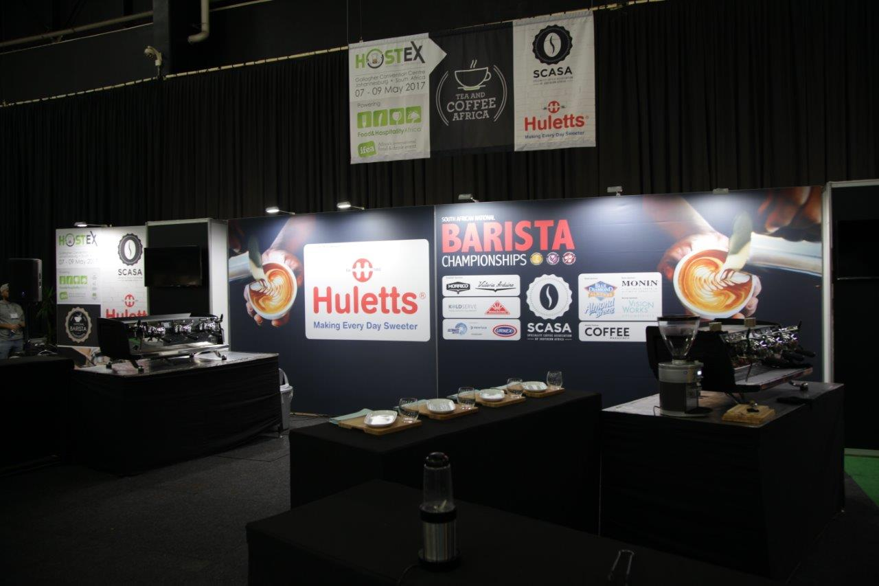 F&HA 2017 - the semi finals of the SCASA Barista Champs got underway today