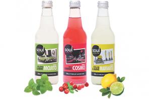 Bottles of Soul Beverages