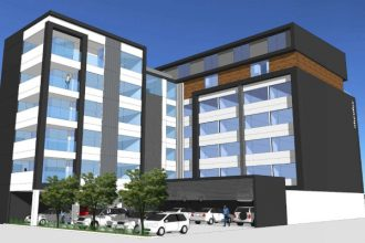 Artist's impression of the approved hotel