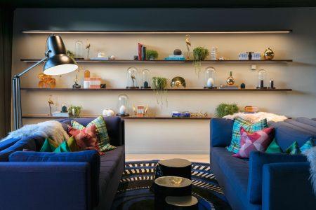 Naumi Hotel, Auckland, interior designer room.