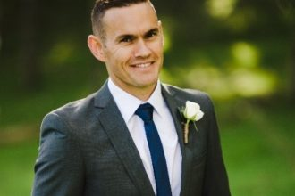 Portrait photo of Bradley Conder, the new general manager at Novotel and Ibis, Christchurch.