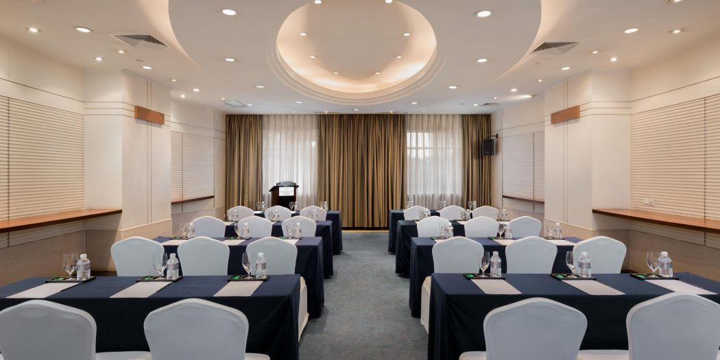 InterContinental conference room in China.