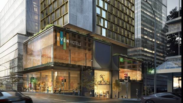EVEN Auckland Hotel artist impression