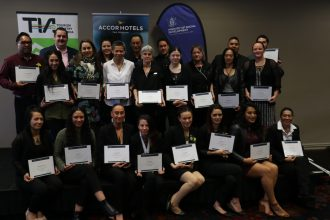 Graduates of the AccorHotels Fast Track Partnership Programme