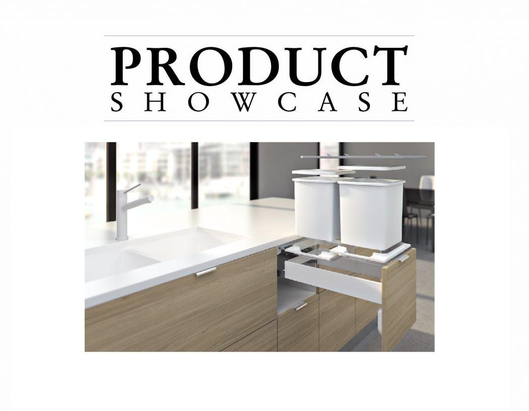 Hideaway bins product showcase