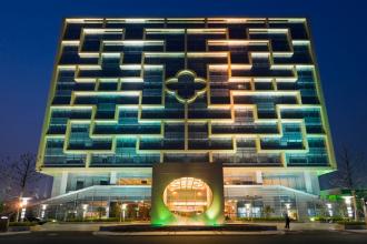Huazhu hotel art house.