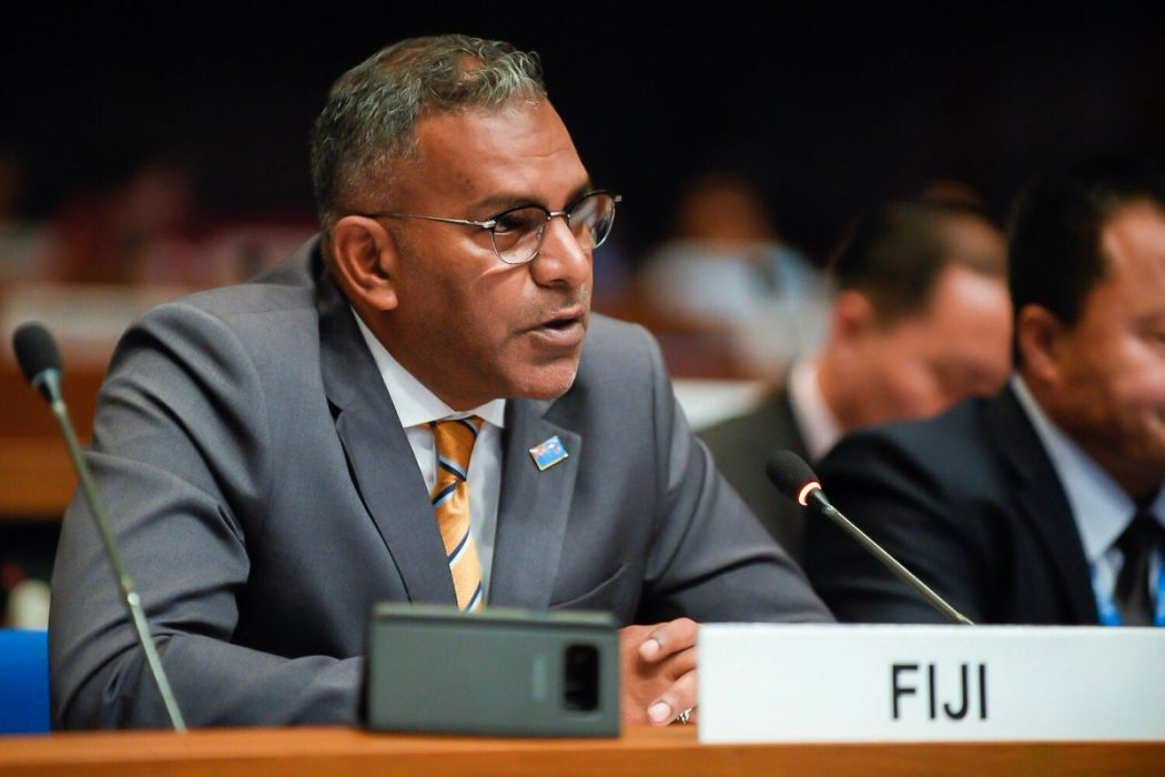 Fijian Tourism Minister at United Nations