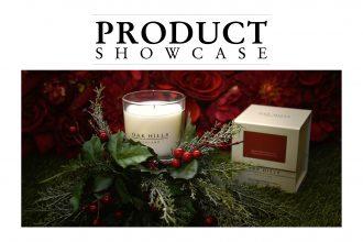 Oak Hills Candles in Mistletoe.