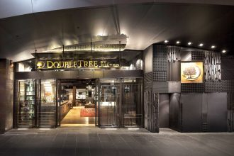 DoubleTree by Melbourne exterior.