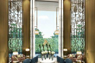 Waldorf Astoria Bangkok interiors
