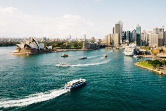 Sydney waterfront during daytime.