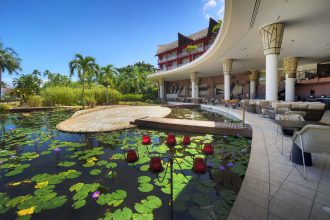 Le Meridien Tahiti La Plantation, now known as Tahiti Ia Ora Beach Resort managed by Sofitel.
