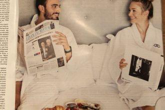 Sofitel print ad in the Sydney Morning Herald.