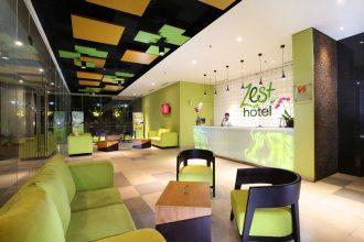 Zest Hotel reception