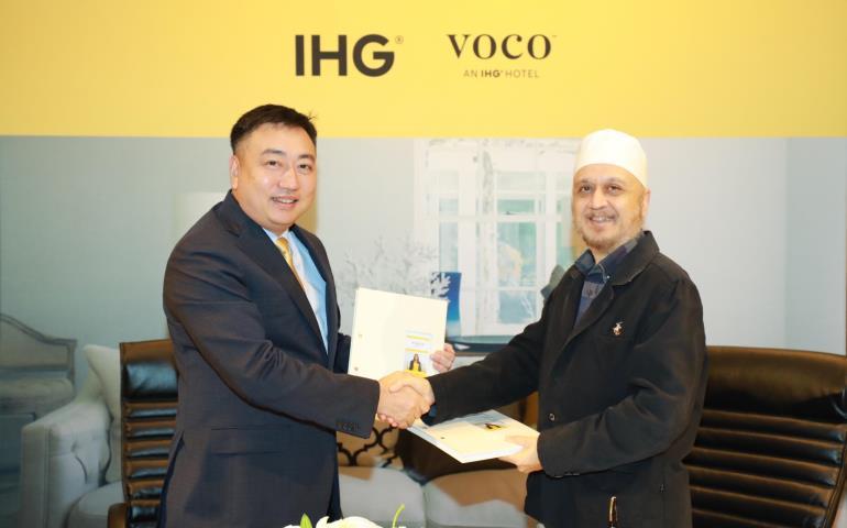 IHG signs voco in Thailand.