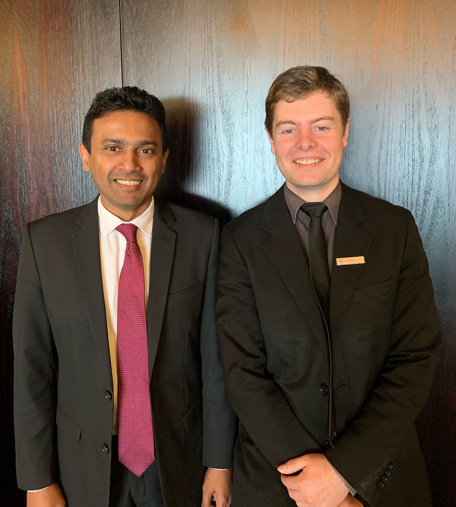 Roshan Perera IT Manager & Greg Jenkins IT Services Officer, Cordis, Auckland.