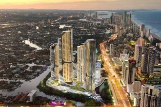 The Star Gold Coast artist's impression.