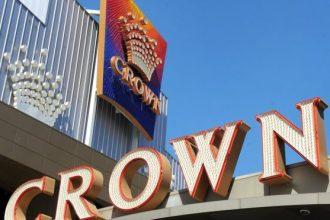 Crown Resorts sign