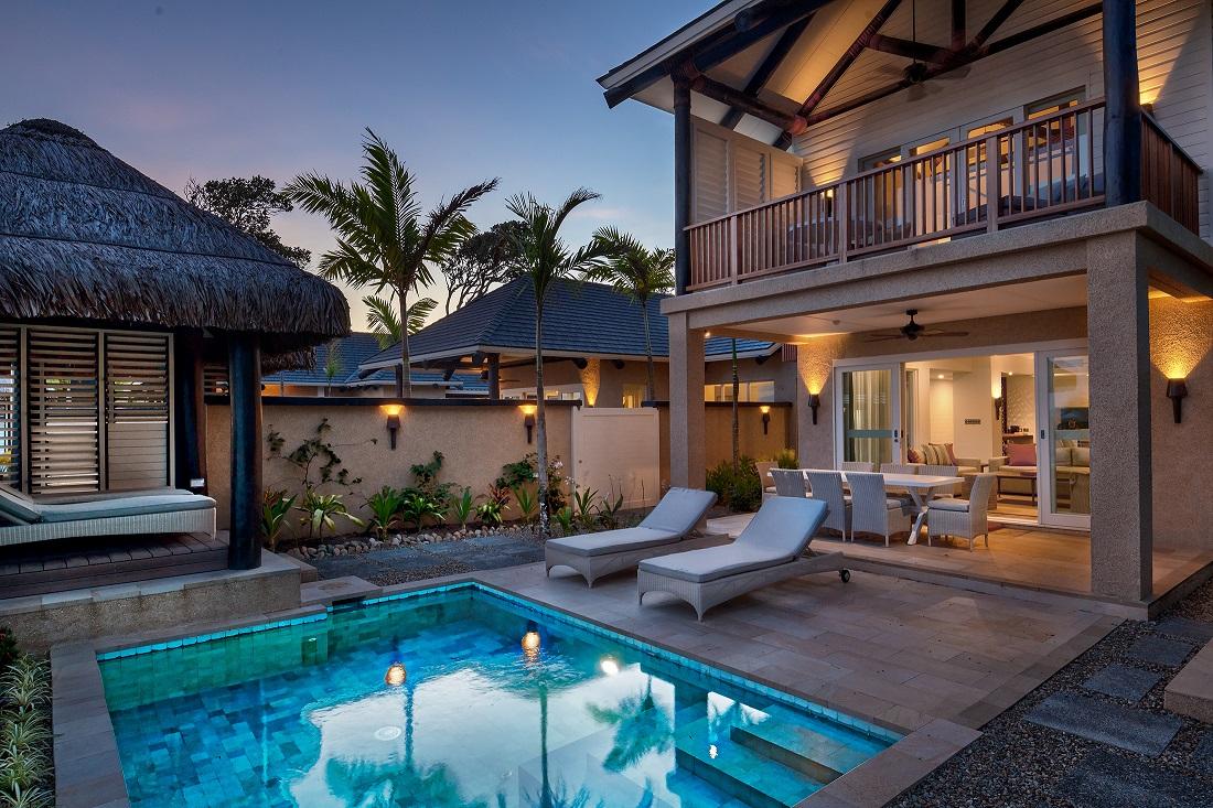 2BR Auberge villa pool courtyard-low