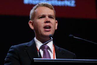 Minister Chris Hipkins.