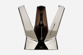 Eric Berthes-designed space shuttle box