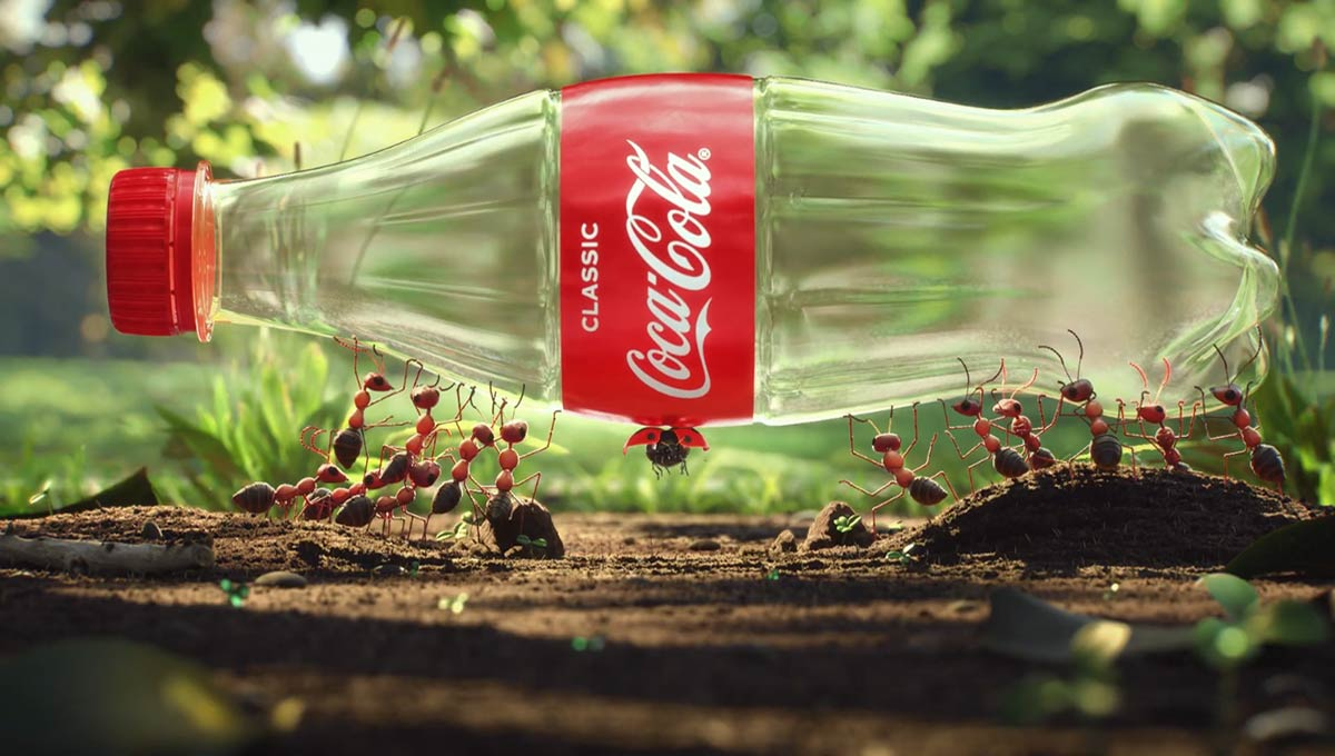coke reach recycled plastic target