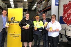 harrways feeding locals in need