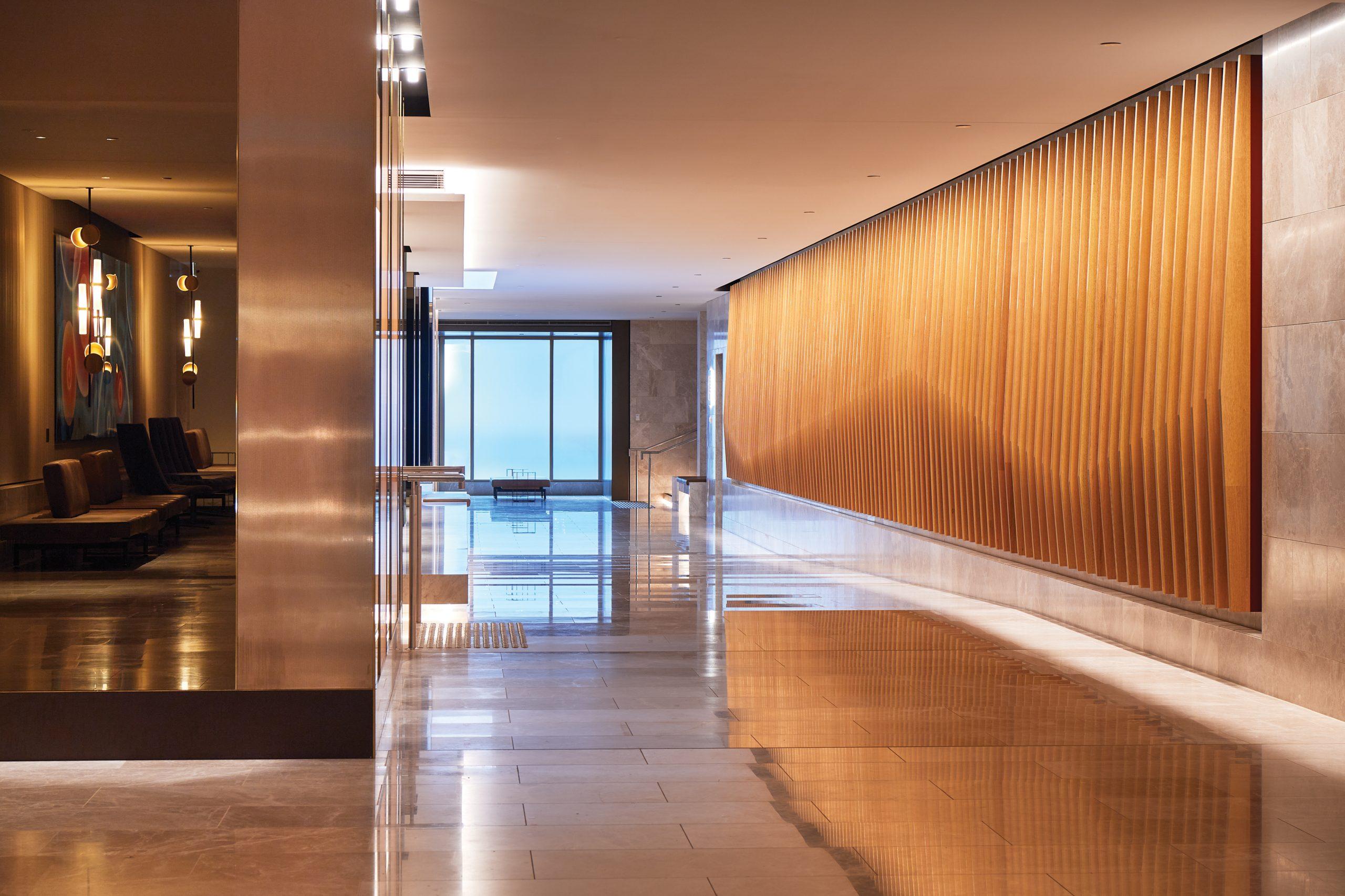 Parmelia-Hilton-Lobby-Runway to Brookfield Place