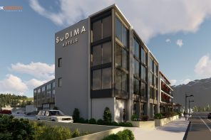 Work on Kaikoura's First 4.5 Star Hotel Continues
