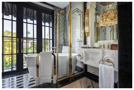 Junior Suite Bathroom Capella Hanoi