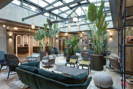Hotel lobby design THDP