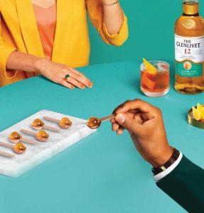 Edible Whiskey Pearls