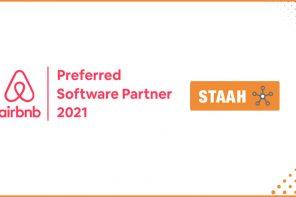 Airbnb STAAH preferred partner badge